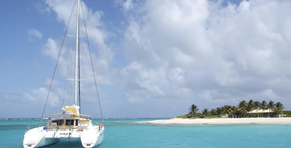 Catamaran à la Soufrière Ste Lucie