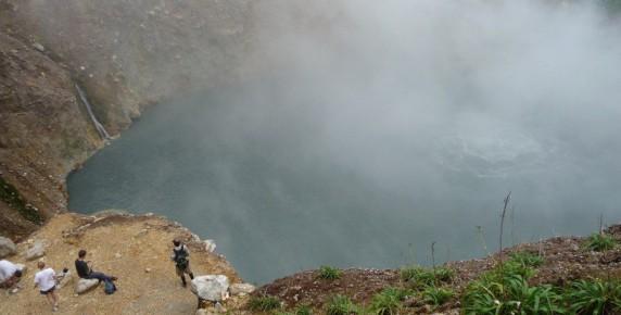 Boiling Lake La Dominique