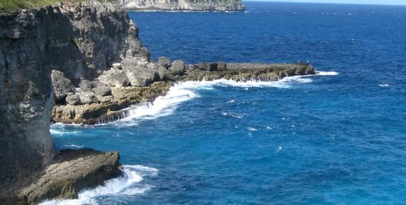 Falaise de la Grande Vigie Guadeloupe